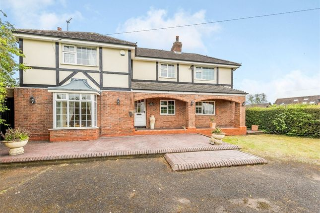Thumbnail Detached house for sale in Old Stafford Road, Cross Green, Wolverhampton, Staffordshire