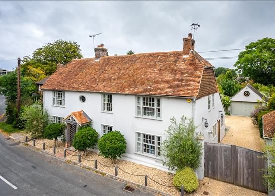 Thumbnail Detached house for sale in High Street, Stockbridge, Hampshire