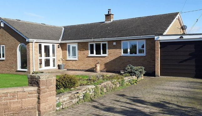 Thumbnail Detached bungalow for sale in Hosket Hill, Kirkandrews-On-Eden, Carlisle