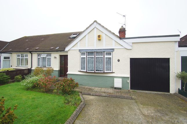 Thumbnail Semi-detached bungalow for sale in Little Birches, Sidcup