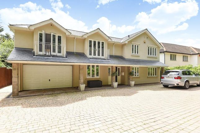 Thumbnail Detached house to rent in Knowle Hill, Virginia Water