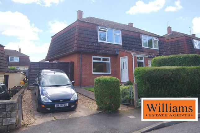 3 bed semi-detached house for sale in Escley Drive, Hereford