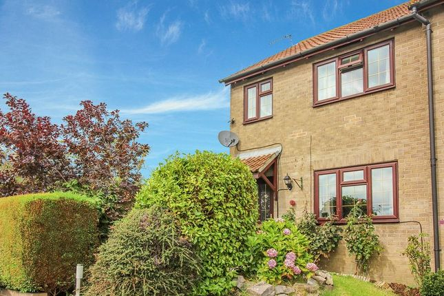 Terraced house for sale in Middleton Close, Warminster