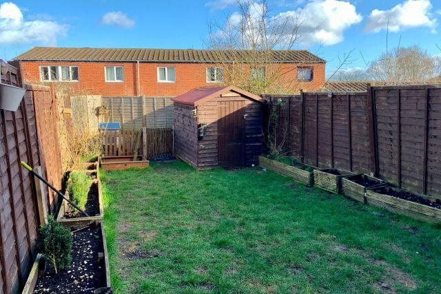 Rear Garden of Eastern Avenue North, Kingsthorpe, Northampton NN2