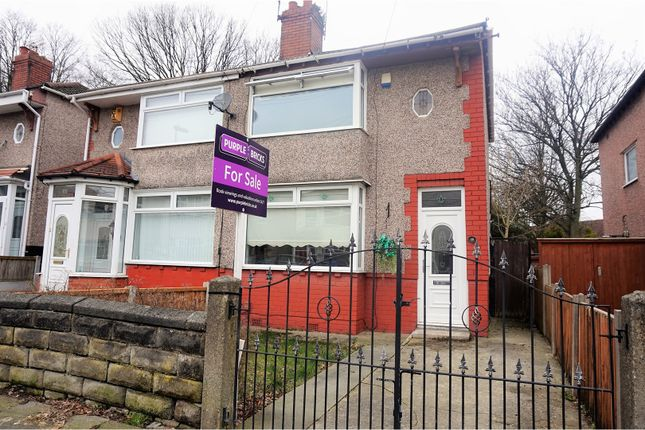 Thumbnail Semi-detached house for sale in Gordon Drive, Liverpool