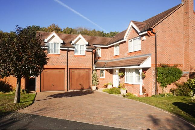 Thumbnail Detached house for sale in Woodspring Grove, Muxton Telford