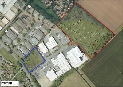 Thumbnail Land for sale in Marlborough Drive, Fleckney, Leicestershire