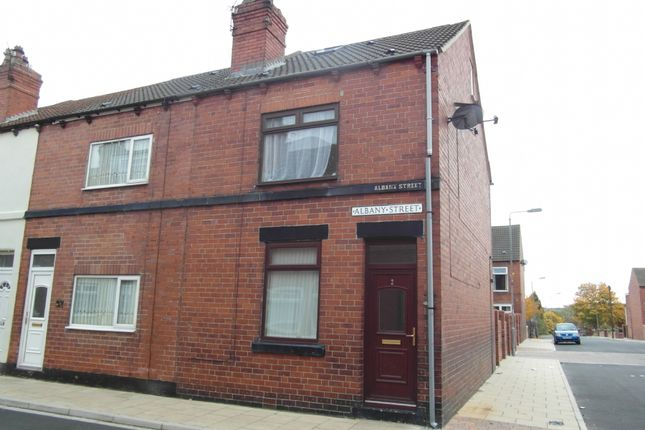 Thumbnail Terraced house to rent in Albany Street, South Elmsall, Pontefract