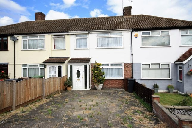 Thumbnail Terraced house for sale in Eastbrook Drive, Rush Green, Romford