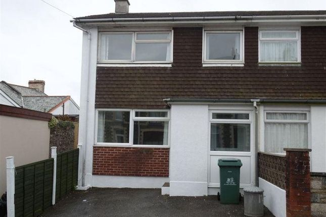 Thumbnail Property to rent in Waterloo Terrace, Bideford