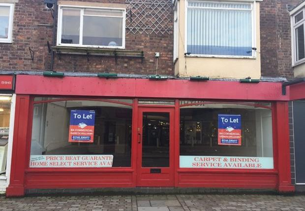 Thumbnail Retail premises to let in 39, Well Street, Ruthin