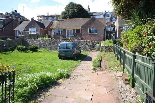Thumbnail Detached bungalow for sale in Brimley Drive, Teignmouth, Devon