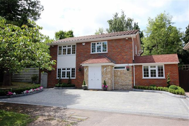 Thumbnail Detached house for sale in Woodside, Elstree, Hertfordshire