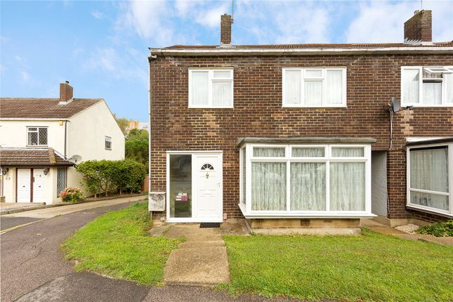 Thumbnail End terrace house for sale in Takely Ride, Kingswood, Essex