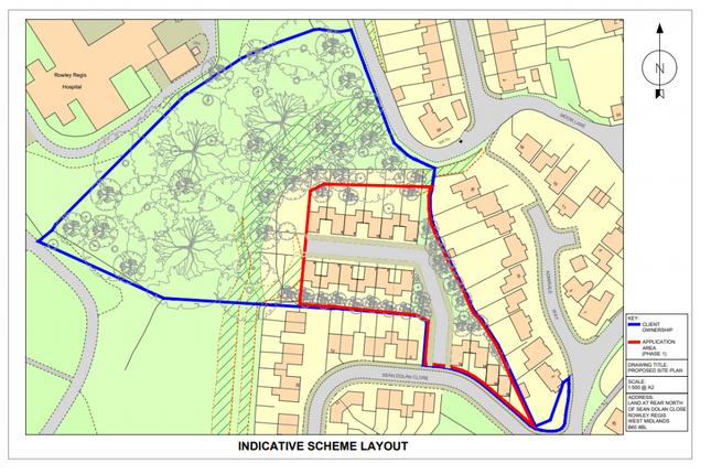 Thumbnail Land for sale in Sean Dolan Cl, Rowley Regis
