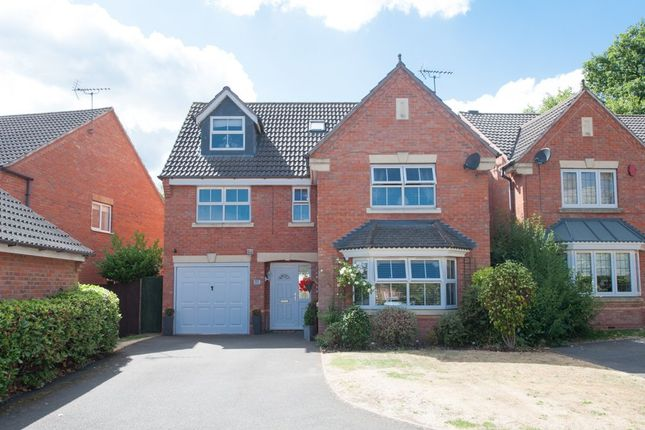 Thumbnail Detached house for sale in Warren House Walk, Walmley, Sutton Coldfield