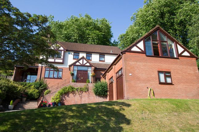 Thumbnail Detached house for sale in Parkfield Drive, Plymouth