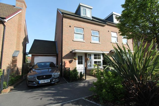 Thumbnail Semi-detached house for sale in Sholden Drive, Deal