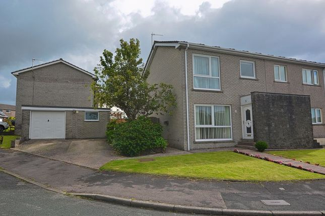 Thumbnail Semi-detached house for sale in Horsfield Close, Whitehaven