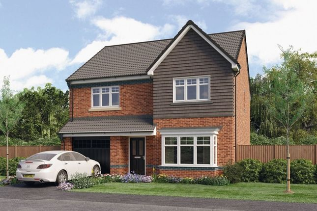 Thumbnail Detached house for sale in Chadwick Croston Road, Farington Moss, Leyland