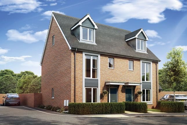 Thumbnail Semi-detached house for sale in The Beckett, Trentham, Stoke On Trent