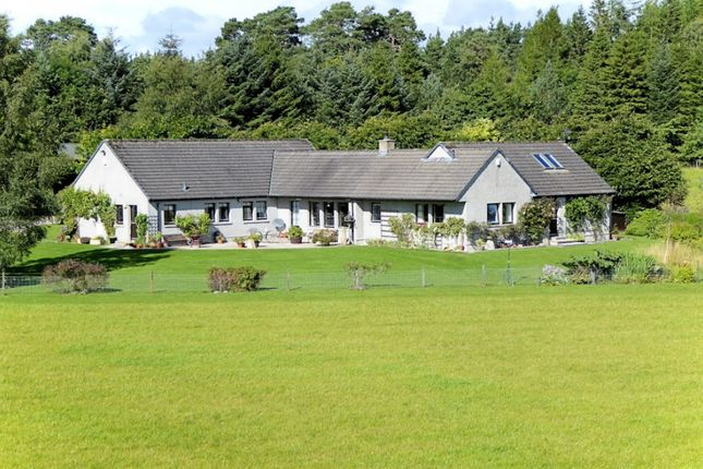 Thumbnail Bungalow for sale in Woodend House, Carron, Aberlour