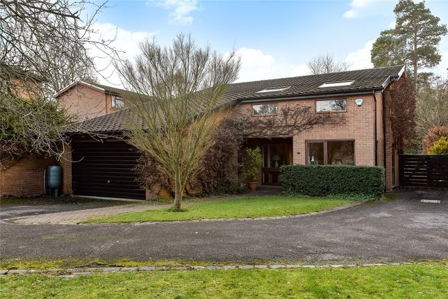 Thumbnail Detached house for sale in Coleridge Avenue, Yateley, Hampshire