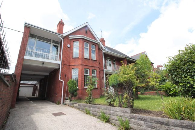 Thumbnail Semi-detached house for sale in Lake Road West, Roath Park