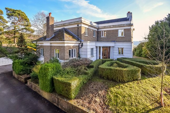 Thumbnail Detached house for sale in Old Bury Hill, Dorking