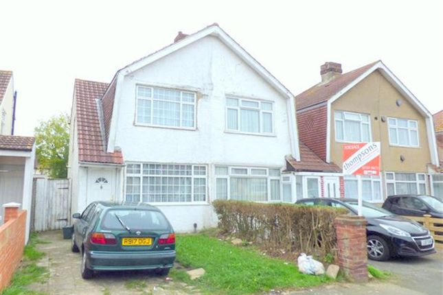 Thumbnail Semi-detached house to rent in Eton Road, Harlington, Hayes