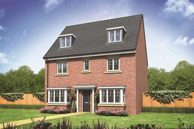 Thumbnail Detached house for sale in Plot 15 - The Regent, Newcastle Road, Crew