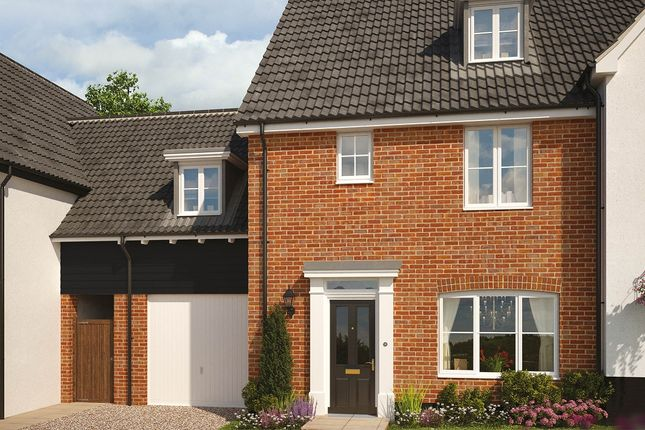 Thumbnail Detached house for sale in The Burdock, Reach Road, Burwell, Cambridgeshire