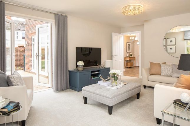 "Thumbnail Detached house for sale in ""Avondale"" at Braeburn Drive, Appleton, Warrington"