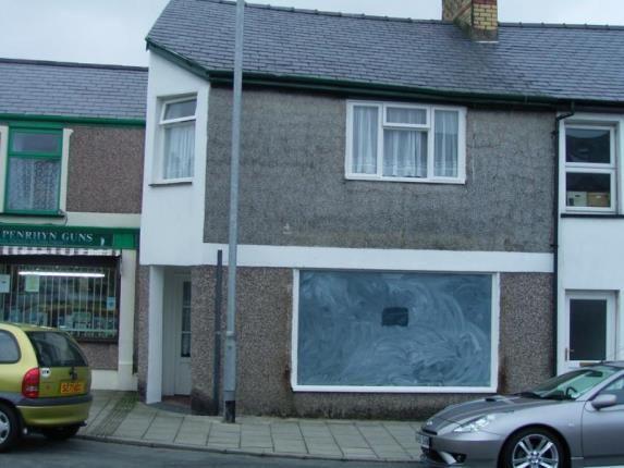 Thumbnail Terraced house for sale in High Street, Penrhyndeudraeth, Gwynedd