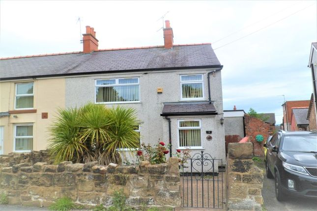 Thumbnail Semi-detached house for sale in Quarry Road, Brynteg, Wrexham