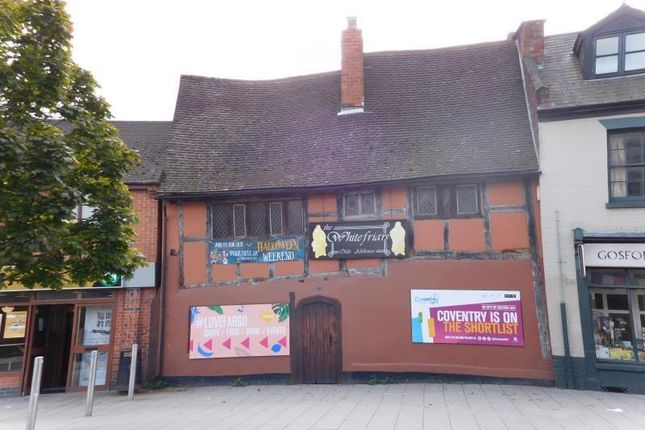 Thumbnail Pub/bar to let in Former Whitefriars Olde Ale House, Gosford Street, Coventry