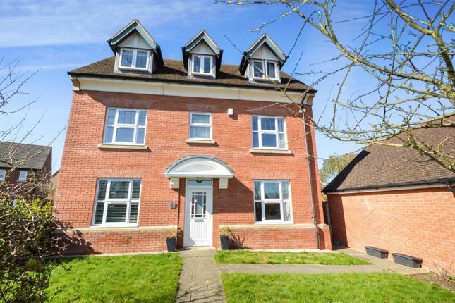 Thumbnail Detached house for sale in Burnaston Way, Loughborough