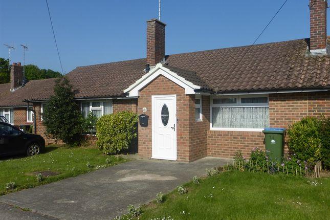 Thumbnail Terraced bungalow for sale in Lawrence Avenue, Rustington, Littlehampton