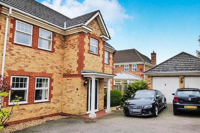 Thumbnail Detached house to rent in Militia Close, Wootton, Northampton