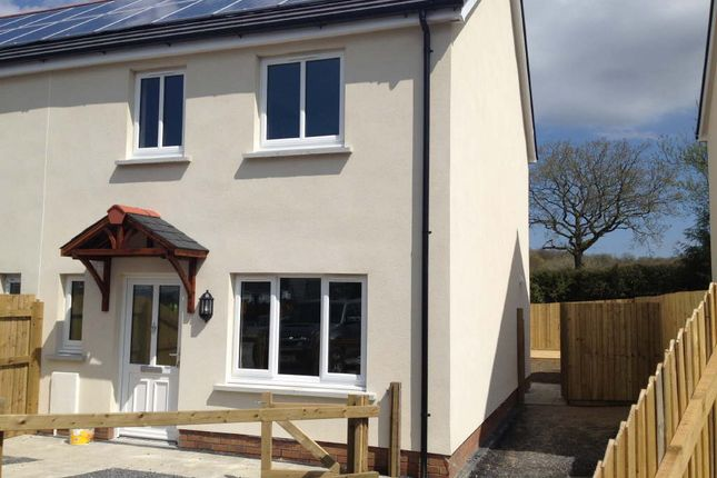 Thumbnail Semi-detached house to rent in Clos Gwili, Cwmgwili, Cwmgwili, Llanelli