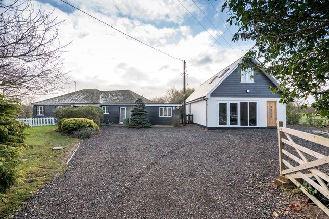 Thumbnail Detached bungalow for sale in Bromans Lane, East Mersea, Colchester