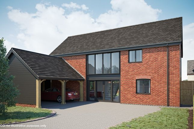Thumbnail Detached house for sale in Plot 13 The Maple, Oakland Mews, Strumpshaw