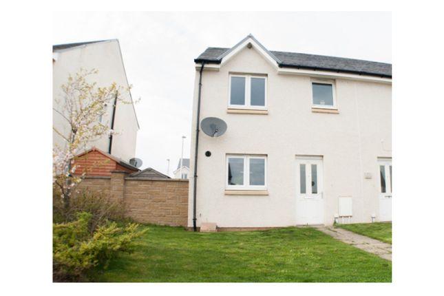 Thumbnail End terrace house for sale in Burnbrae Road, Bonnyrigg