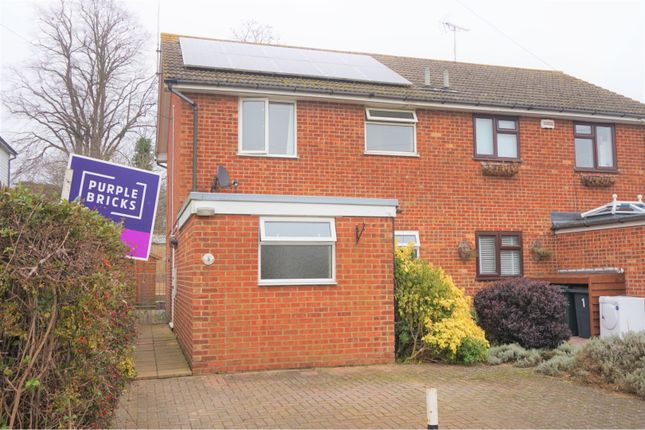 Thumbnail Semi-detached house for sale in Park Place, Ashford