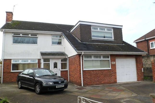 Thumbnail Detached house to rent in Queenswood Avenue, Bebington, Wirral