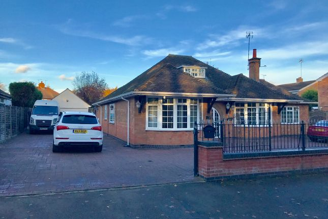 Thumbnail Detached bungalow for sale in Rufford Close, Burbage, Hinckley