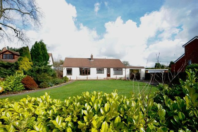 Thumbnail Detached bungalow for sale in Willow Garth, Ridley Lane, Mawdesley