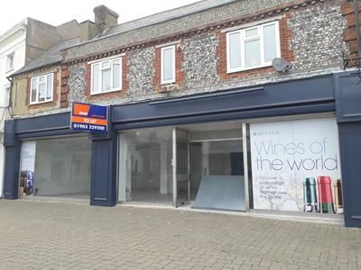 Thumbnail Retail premises to let in 61-63 High Street, Littlehampton, West Sussex