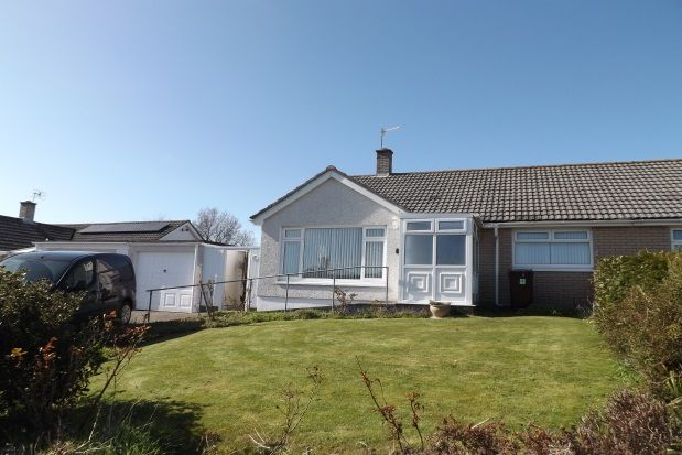 Thumbnail Bungalow to rent in Khyber Close, Torpoint