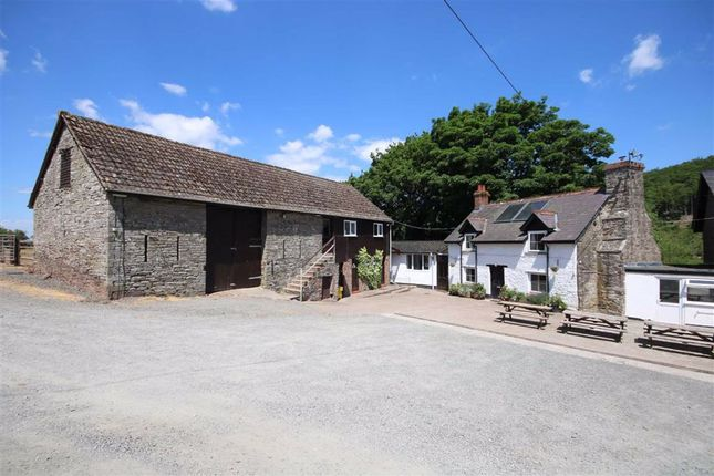 Thumbnail Farmhouse for sale in Felindre, Brecon, Powys